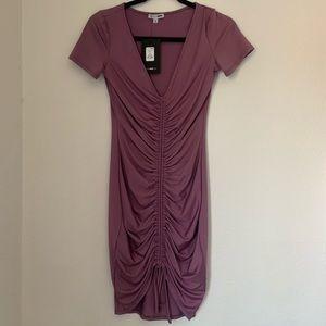 New Fashion Nova Lavender dress- medium